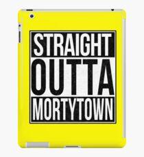 Straight Outta Mortytown iPad Case/Skin