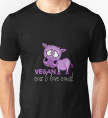 VEGAN Coz I love Cows! T-Shirt