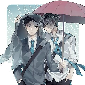 [Haikyuu] Bokuaka - Rainy day by mintdesu