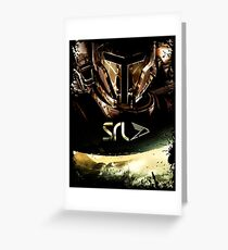 SLR Robot Greeting Card