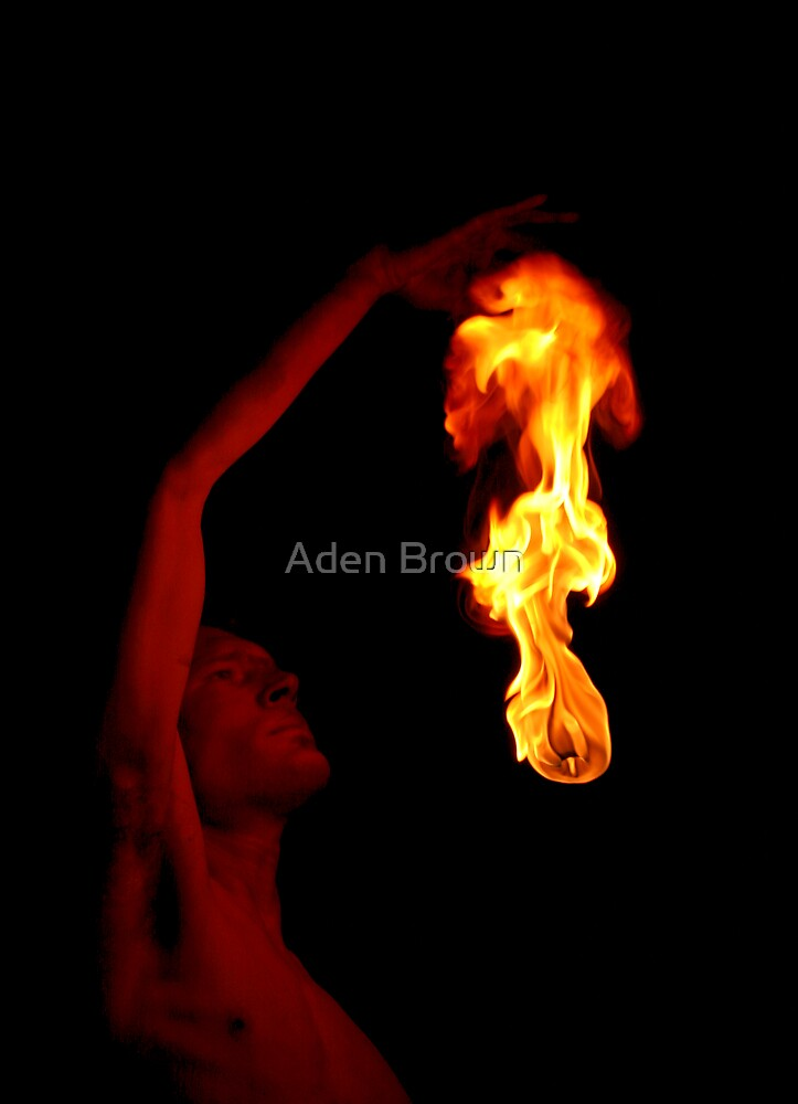 Ken Beholding the Flame by Aden Brown