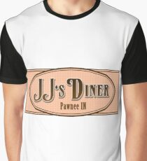 JJ's Diner Pawnee Indiana Parks & Recreation Graphic T-Shirt
