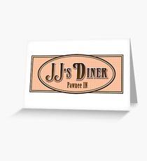 JJ's Diner Pawnee Indiana Parks & Recreation Greeting Card