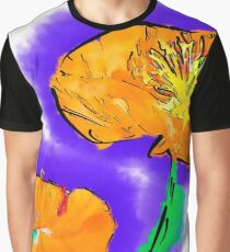 The Orange Poppy Pair Graphic T-Shirt
