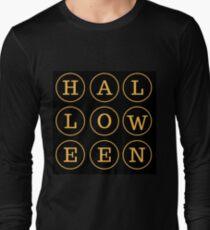 Halloween Orange & Black T-Shirt