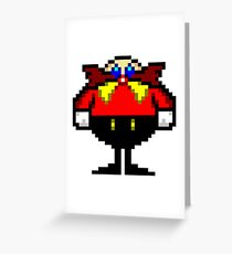 The Robotnik Doktor Sprite Greeting Card