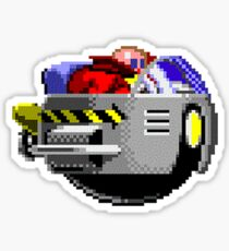The Flying Robotnik Sticker