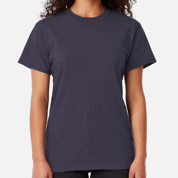 Navy Blue Solid Color Classic T-Shirt