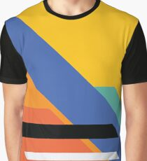 Modern Retro Title Card Zone Graphic T-Shirt