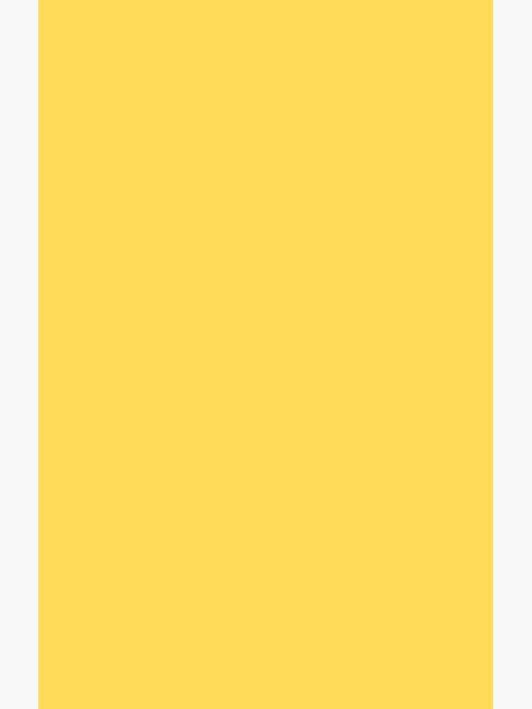 Senfgelb einfarbig von rewstudio