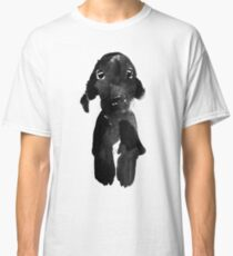 black dog Classic T-Shirt