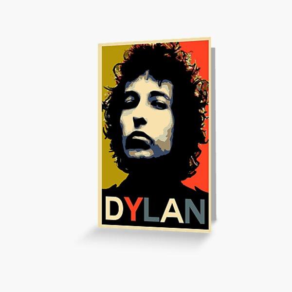 Dylan - Singer-Songwriter der Extraklasse. Grußkarte