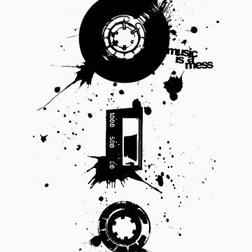 Music is a Mess by WayneKun