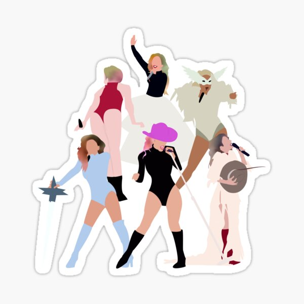 Joanne World Tour Sticker