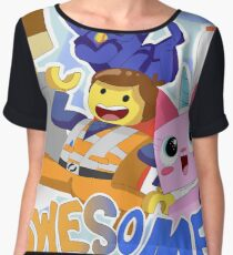 Everything is Awesome! Chiffon Top