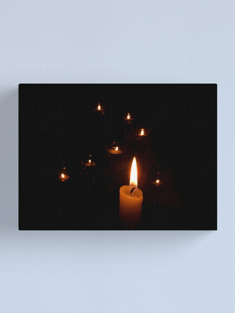 Alternate view of Candlelight Canvas Print