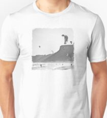 Windsurfers having fun on the Atlantic Ocean T-Shirt