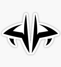 Prince Lotor's symbol - black Sticker