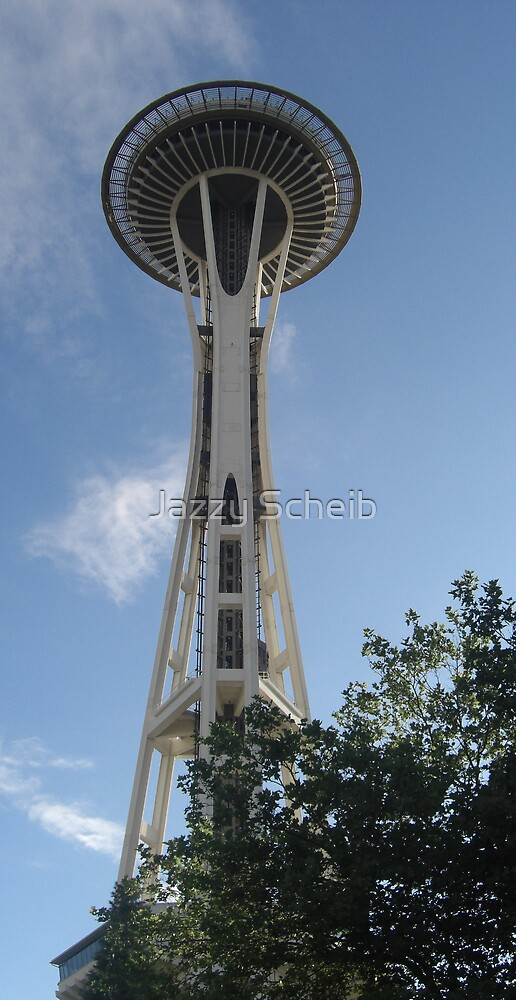 Space Needle by Jazzy Scheib