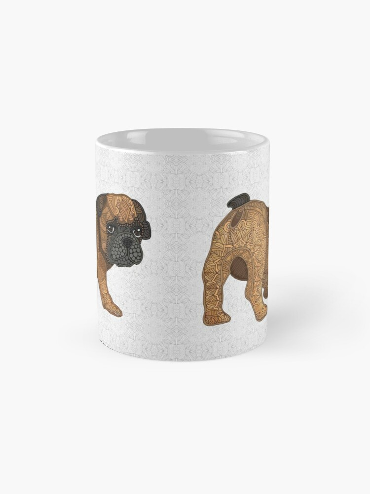 Alternate view of Frenchie Puppy - Chop Mugs