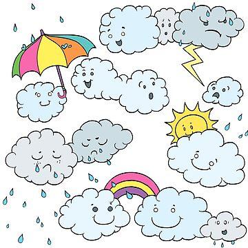 In a Cloudy Mood by SleepyGardenFox