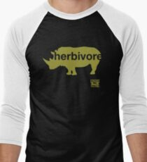 Herbivore Green Men's Baseball ¾ T-Shirt