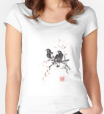 Beautiful sisters Women's Fitted Scoop T-Shirt