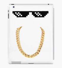 Be Simple, Be Cool iPad Case/Skin