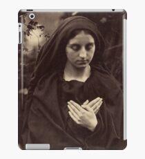 Il Penseroso by Julia Margaret Cameron iPad Case/Skin