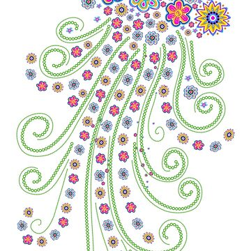 Jellyfish, Flower Of The Sea de boom-art