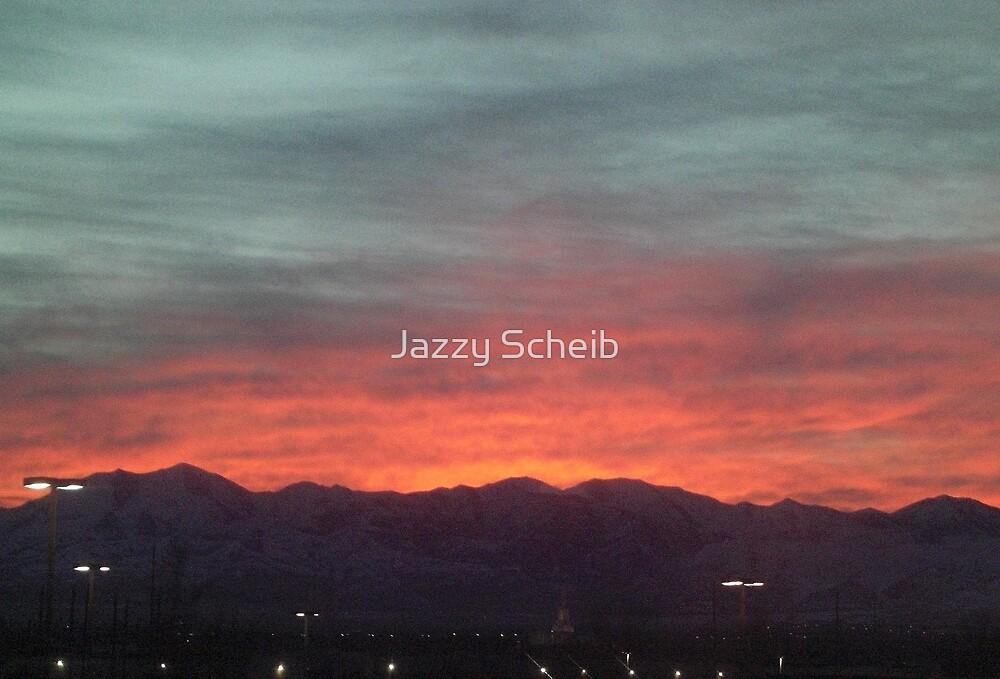 Sunset! by Jazzy Scheib