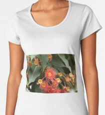 Flowers of a red flowering gum Women's Premium T-Shirt