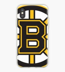 Boston Bruins logo iPhone Case