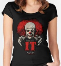 pennywise  Women's Fitted Scoop T-Shirt