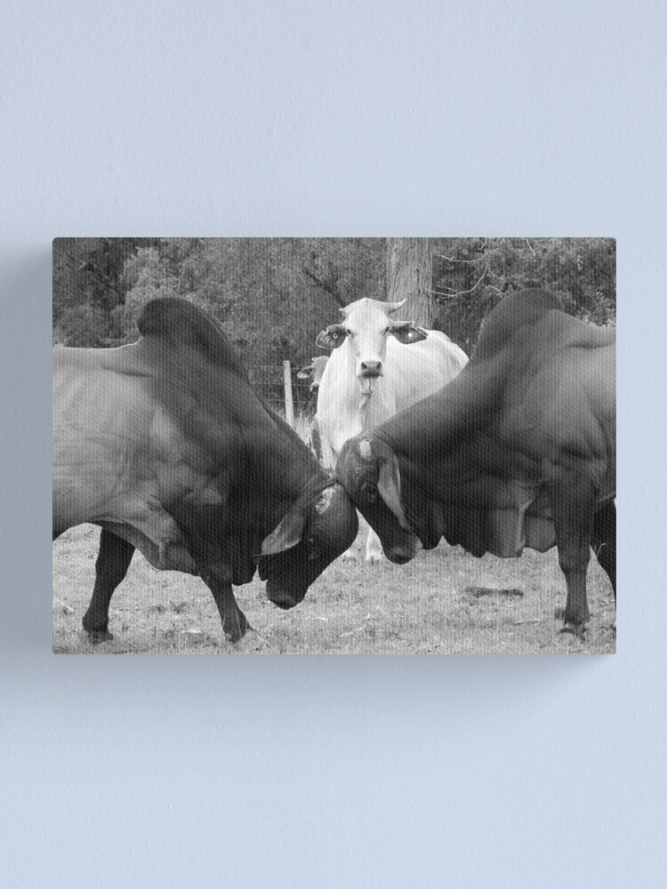Alternate view of The Referee Canvas Print