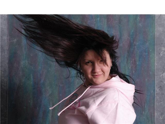 Hair Flick by JemmaMcInnes