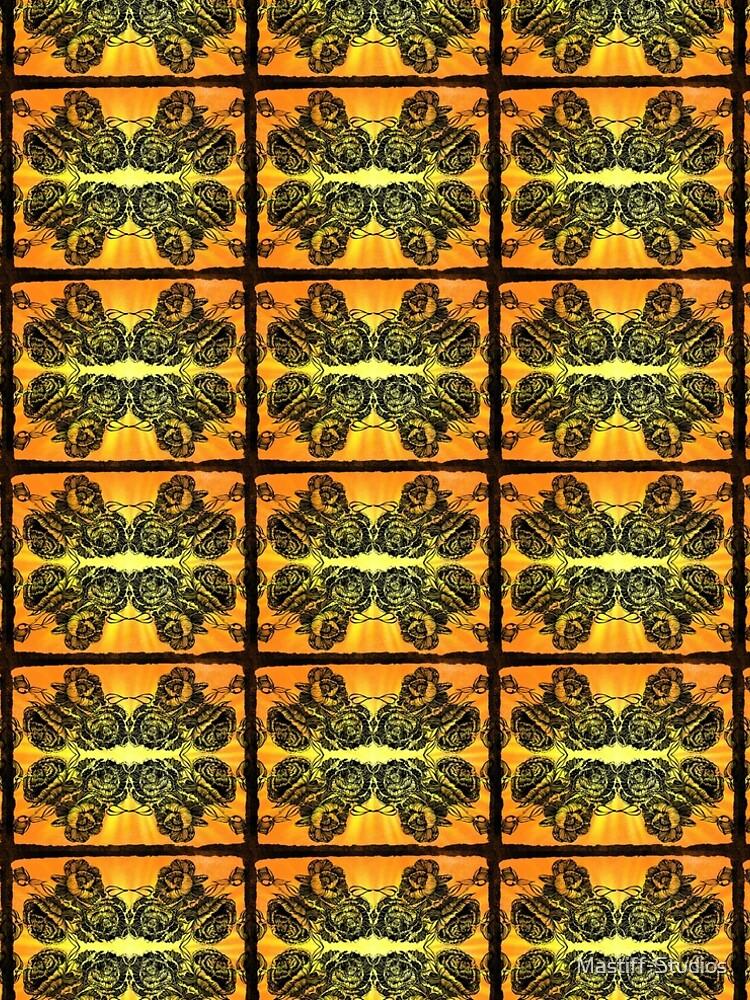 Peonies and Sunset by Mastiff-Studios