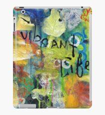 Vibrant Life Acrylic and Ink iPad Case/Skin