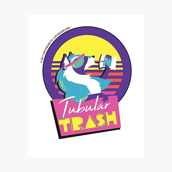 Tubular Trashpanda Photographic Print