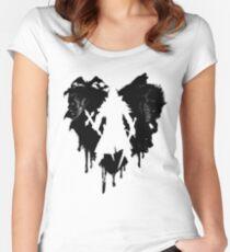 I LOVE Castlevania Camiseta entallada de cuello redondo