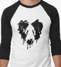 I LOVE Castlevania Camiseta ¾ bicolor para hombre