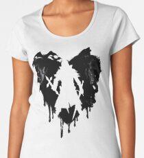 I LOVE Castlevania Camiseta premium de cuello ancho