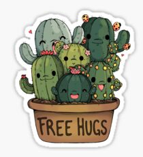Free Hugs for Us Sticker