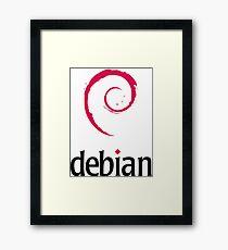 Debian - Logo Framed Print