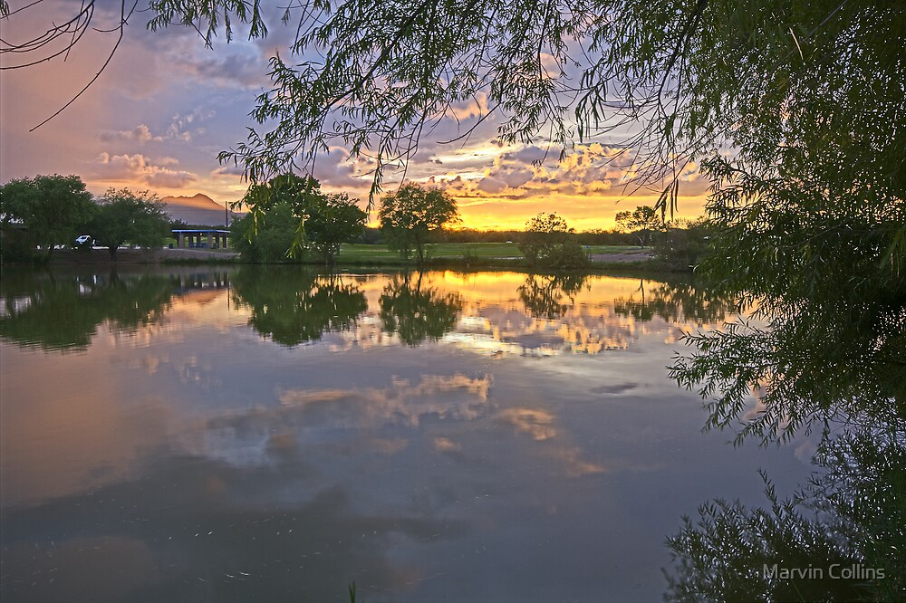 Sunset at CC Park by Marvin Collins