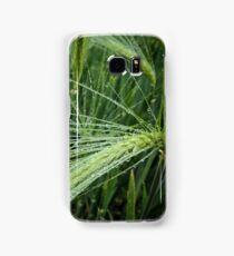 Wheat in the rain Samsung Galaxy Case/Skin