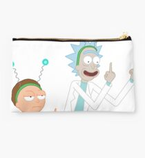 Rick and Morty Funny moment (fuck you) Studio Pouch