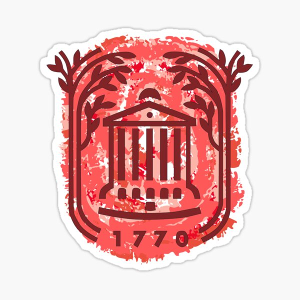 College of Charleston Logo Sticker