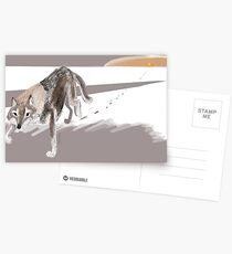 Totem Russian Wolf Postales