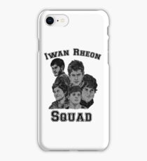 Iwan Rheon mural iPhone Case/Skin